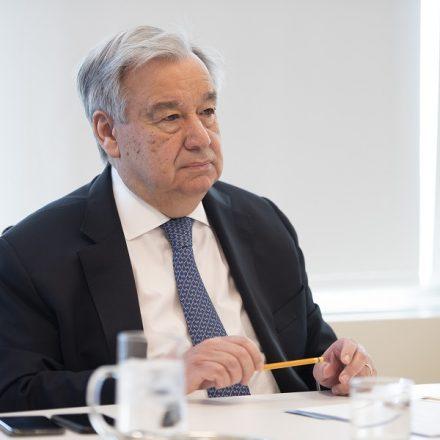 "Guterres critica ""epidemia de desinformação"" sobre Covid-19"