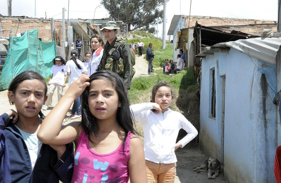 Colômbia e colombianos fome ONU
