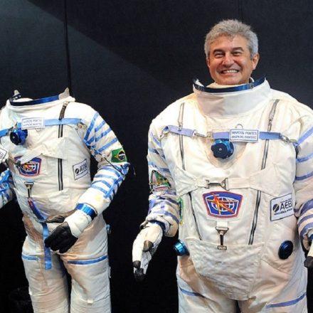 O ministro Marcos Pontes, em evento de Ciência e Tecnologia (Foto: Wilson Dias/ABr)