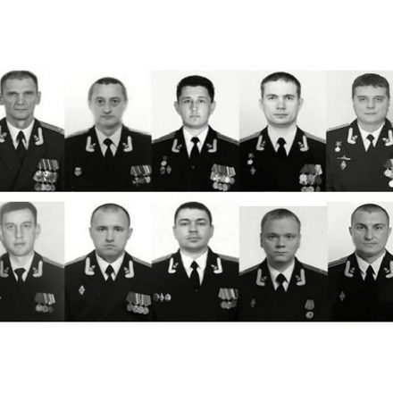 Os 14 marinheiros a bordo do submarino russo Losharik