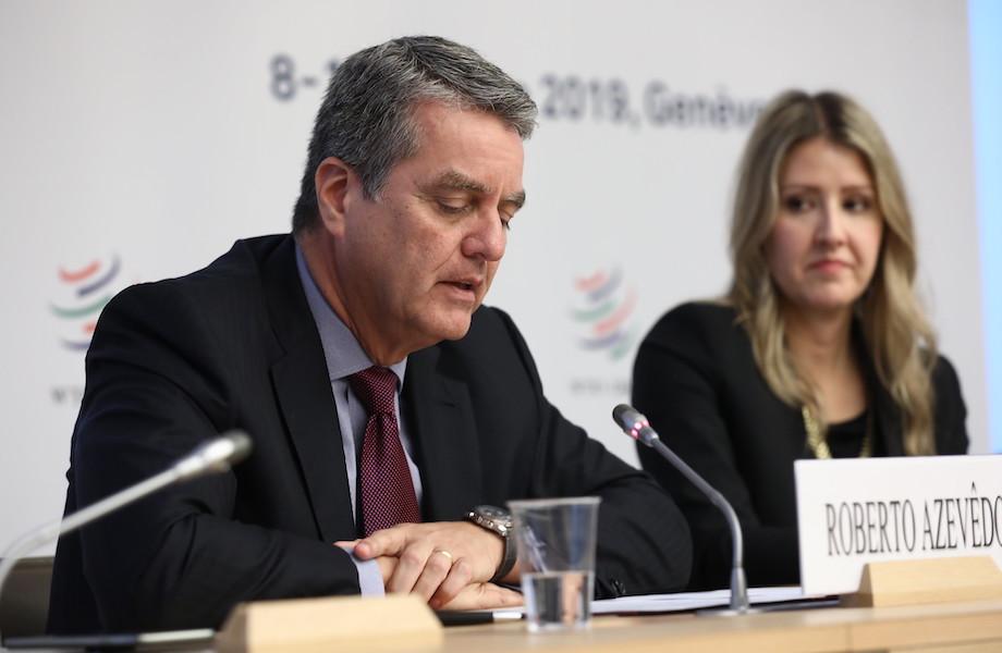 Diretor-geral da OMC anuncia saída antecipada em agosto