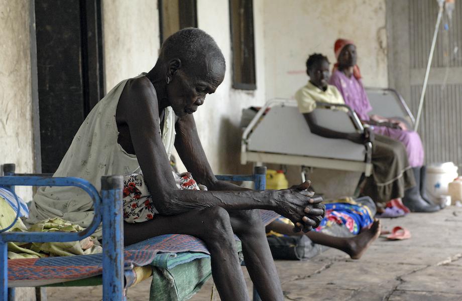 Governo usa fome como 'arma de guerra' no Sudão do Sul, aponta ONU