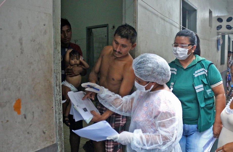 No Brasil, 65% dos indígenas venezuelanos são solicitantes de refúgio