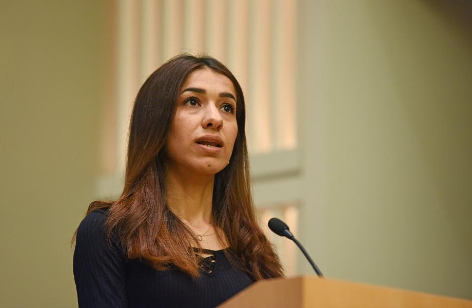 Não há 'vontade política' para parar violência sexual, diz Nobel Nadia Murad