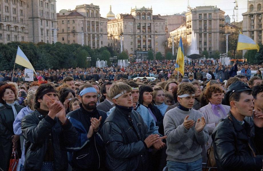 Revolução do Granito, na Ucrânia, deixa legado de ativismo após 30 anos