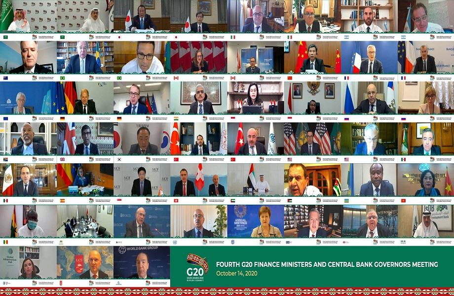G20 estende suspensão de dívida de países pobres e pede plano a bancos
