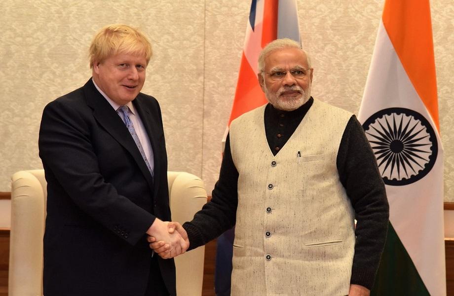 Confirmação de Boris Johnson à Índia, em janeiro, abre portas a Modi no G7