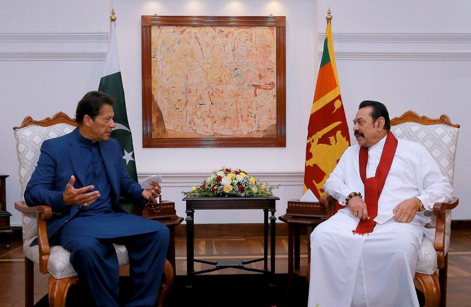 Visita de Imran Khan renova relações bilaterais entre Sri Lanka e Paquistão