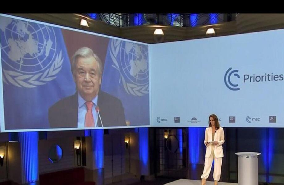 ONU: 2021 deve ser o retorno ao caminho certo, exorta Guterres