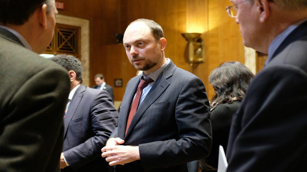 Parlamentar russo pede exame sobre suposto envenenamento de Kara-Murza