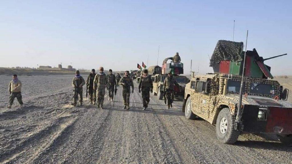 Vídeo mostra mísseis atingindo a região do palácio presidencial no Afeganistão