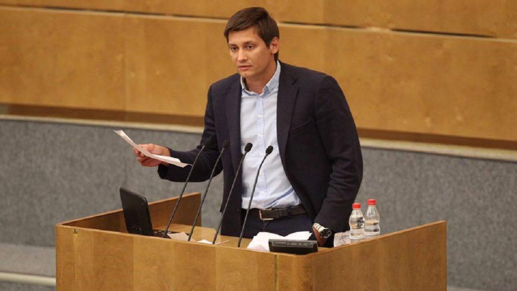 Figura da oposição russa, Dmitry Gudkov se exila na Ucrânia