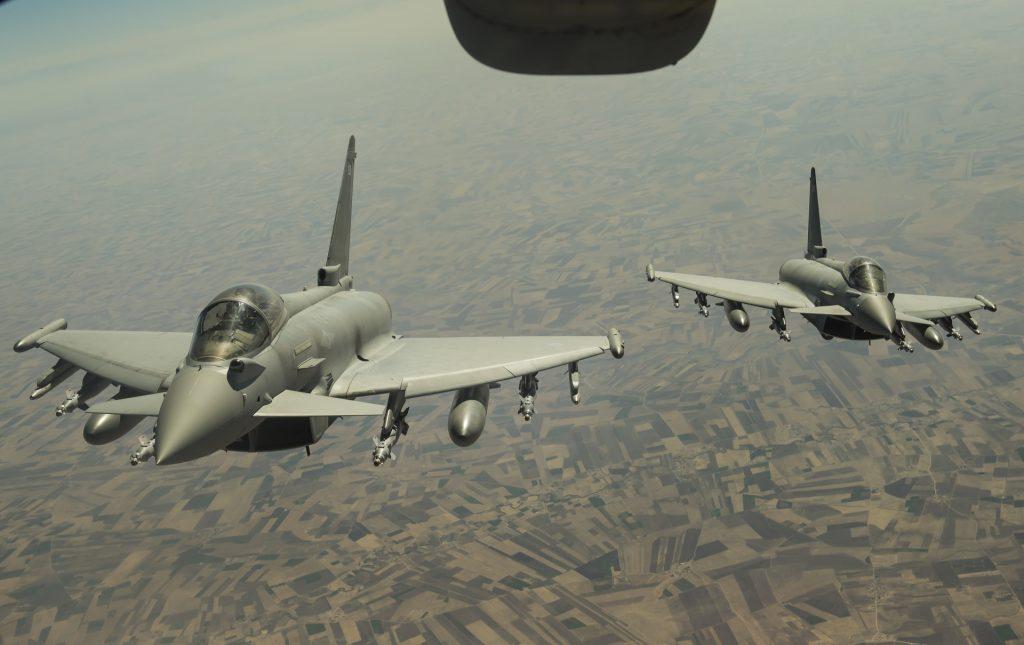 Com bomba guiada por laser, Força Aérea Britânica ataca Estado Islâmico no Iraque